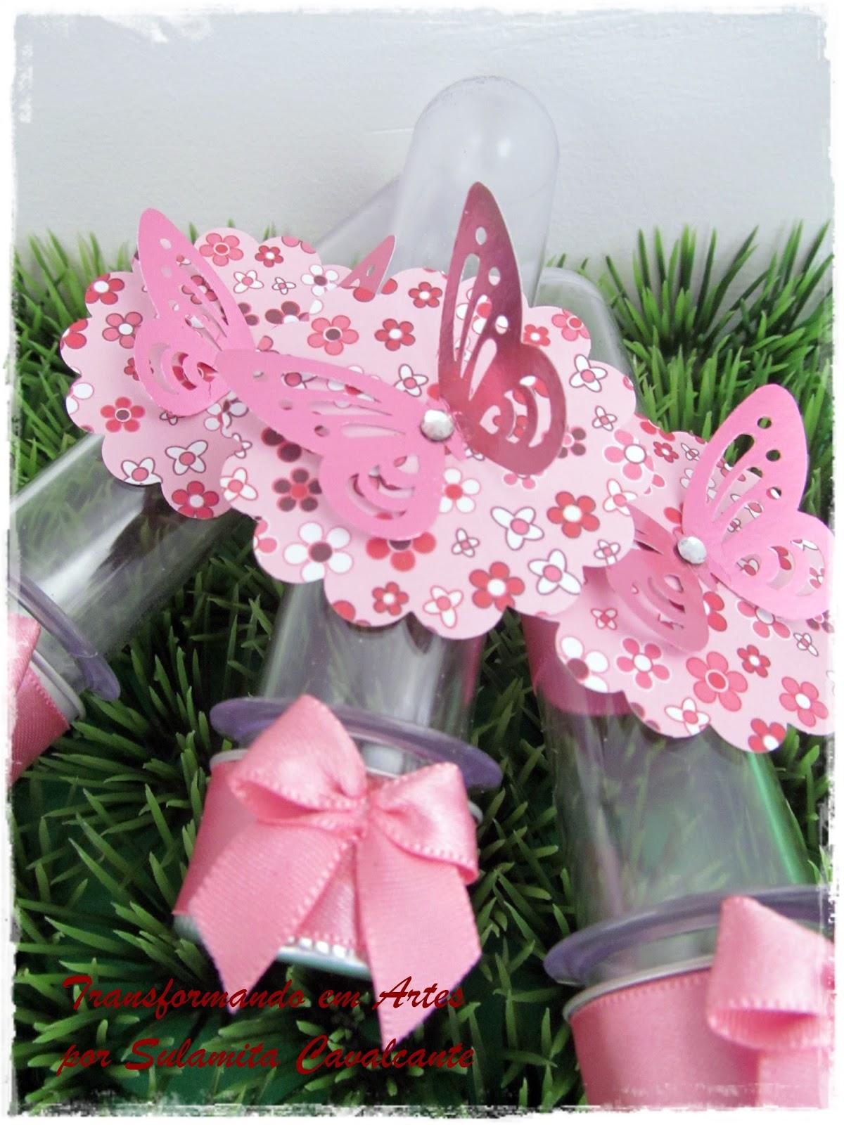 decoracao de aniversario jardim das borboletas:potinhos de vidro para jujuba