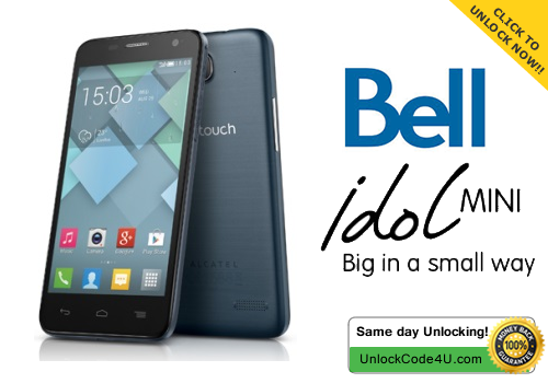 Factory Unlock Code for Alcatel One Touch Idol Mini