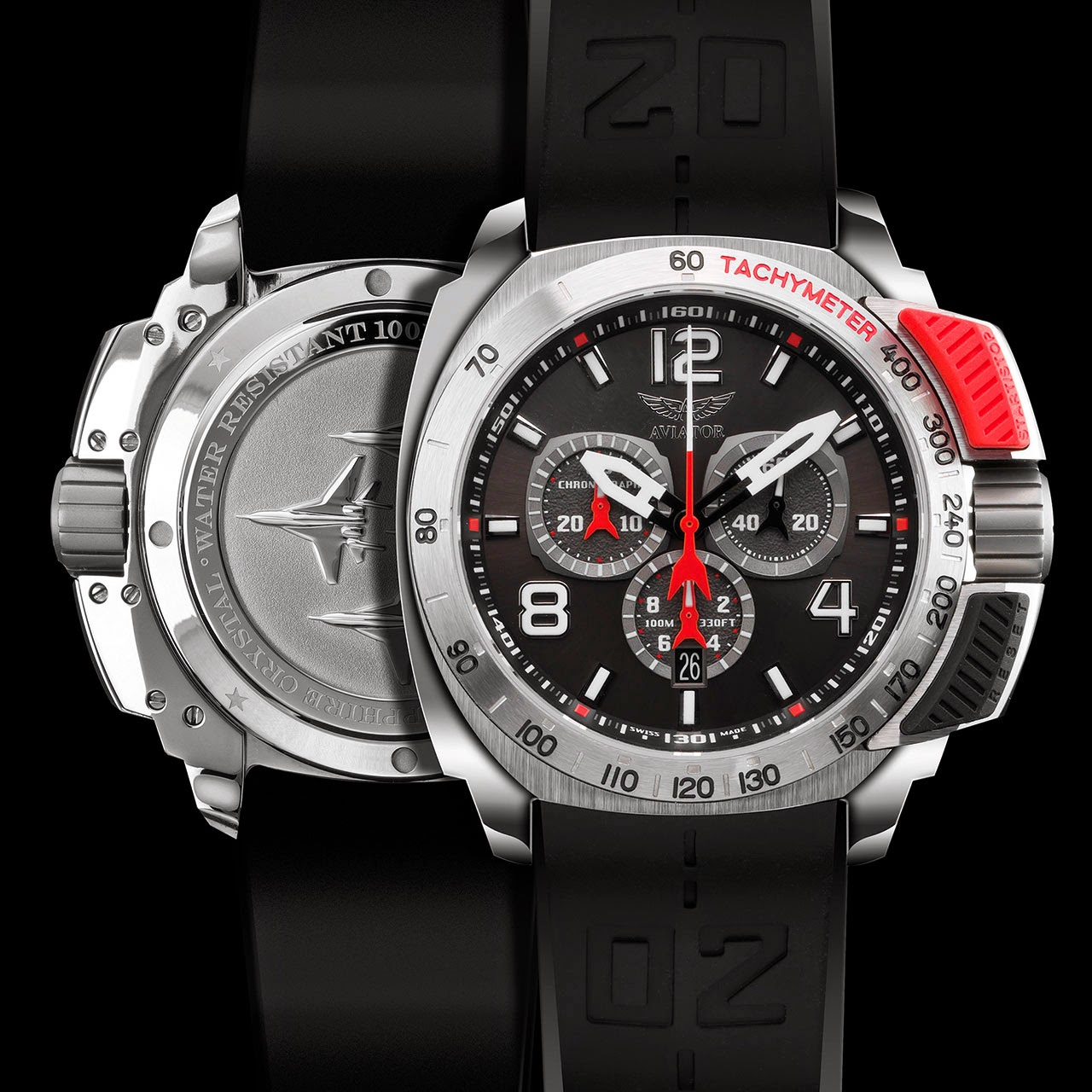 Aviator Professional Edition Chronograph Watch
