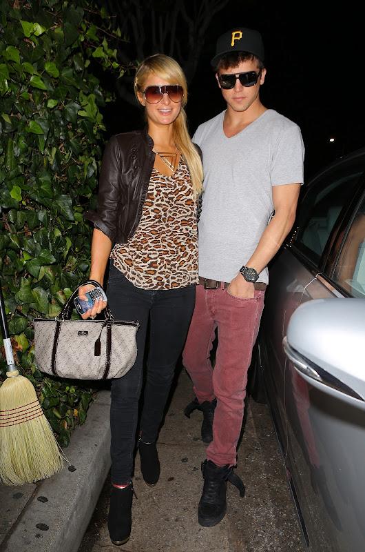 Paris Hilton and River Viiperi - Ivy Restaurant Dinner Date