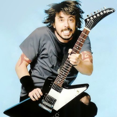gibson guitar and dave grohl