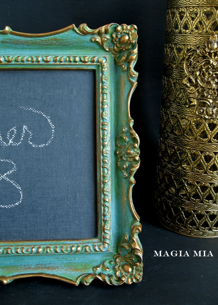 Magia Mia Chalk Painted Framechalkboard First Dibs To My Readers