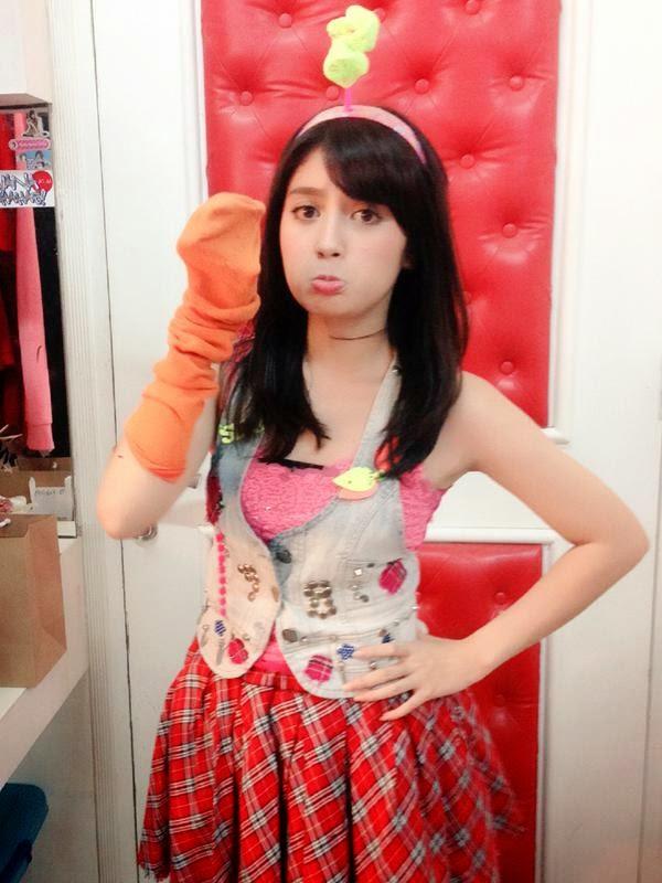 Foto Nabilah JKT48 Dengan Rambut Barunya