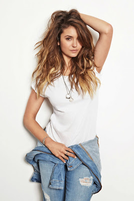 Nina Dobrev stunning in denim at Nylon magazine August 2014 issue