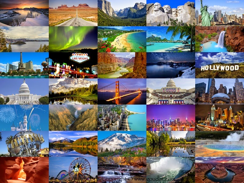 Pics For Different Places In The World Collage