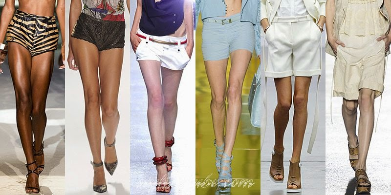 Spring Summer 2014 Women's Shorts Fashion Trends