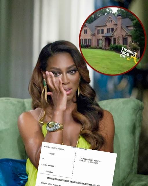Kenya Moore is ALLEGEDLY being Evicted!!!!! Update!