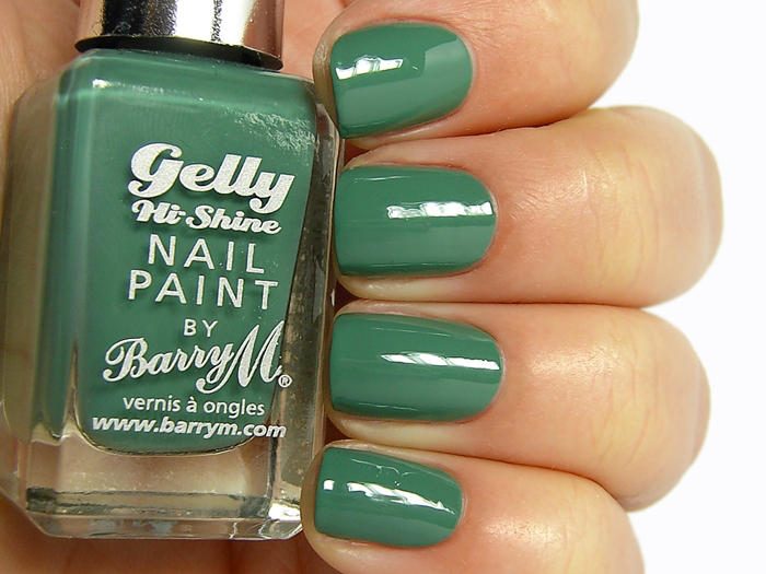 Barry M Gelly Nail Paint - Cardamom