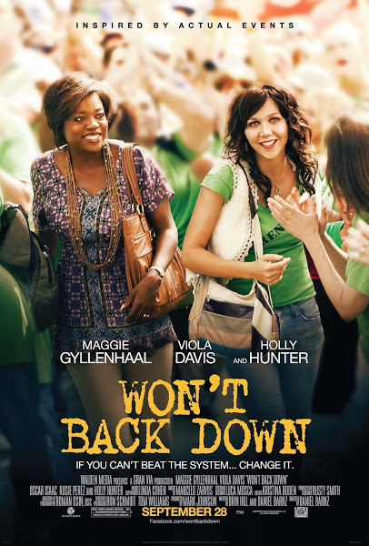 Wont Back Down (2012) DVDRip 500MB