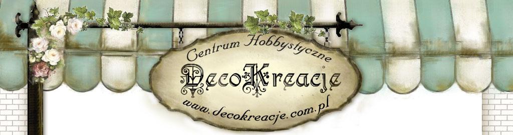 Centrum Hobbystyczne DecoKreacje - decoupage, filcowanie, scrapbooking - warsztaty, sklep, pracownia