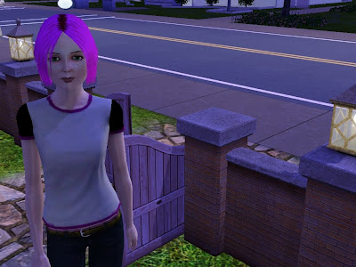 My Vampire Friend Trish, as seen in her Sims 3 game