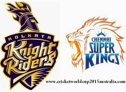 Watch ipl t20 2015 live streaming csk vs kkr score board wiki 28th Match 30th match