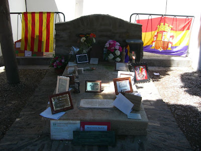 Antonio Machado's grave in Collioure