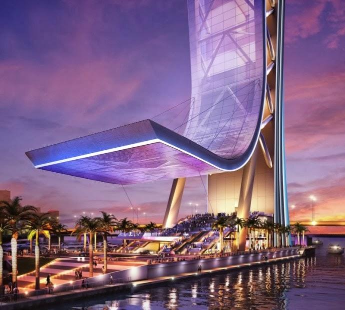 Luxury Life Design: 'SkyRise' building - Miami's Eiffel Tower
