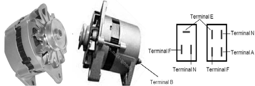 Alternator dan Terminalnya