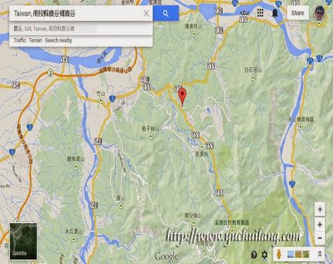 Peta Lugu Taiwan