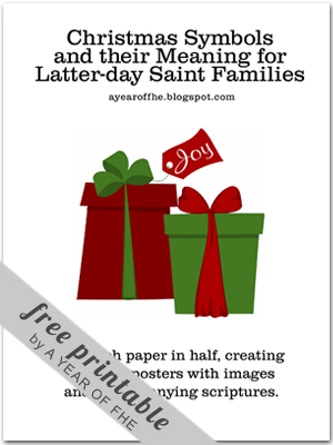 Lds Parenting Christmas Fhe Symbols Of Christmas