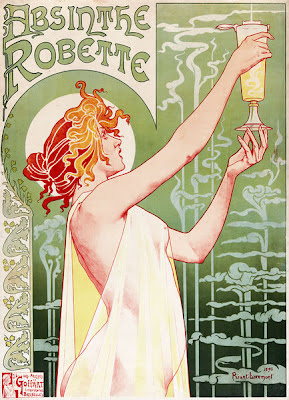 Edgar Allan Poe Absinthe makes the heart grow fonder