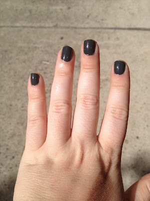 Nail of the Day-Deborah Lippmann Stormy Weather