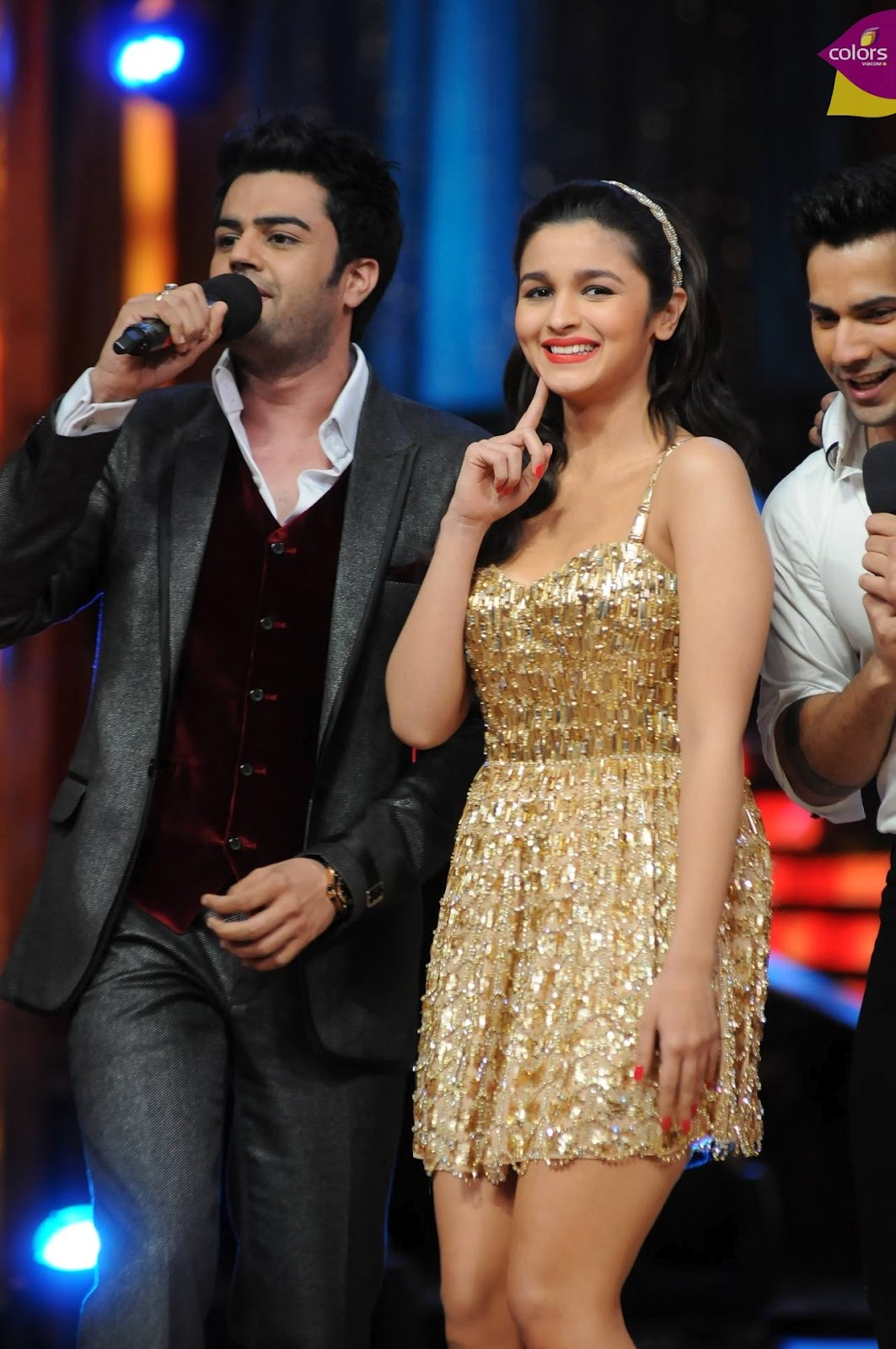 Alia Bhat In Jhalak dikhlaja new Images