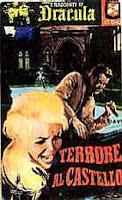Terrore al castello, 1965, copertina