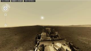 Curiosity Vista de Marte en 360°