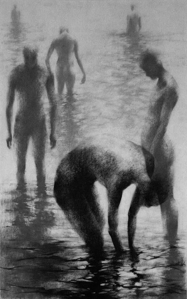 Clara Lieu. Wading