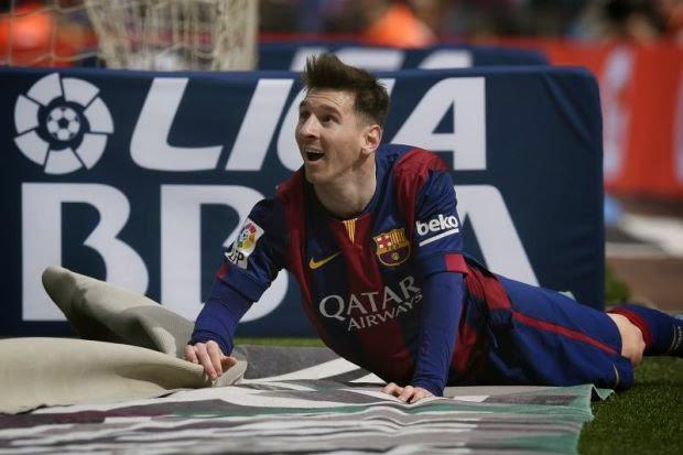 Liga Sepanyol: Messi Catat Rekod Hatrik, info sukan, bola sepak, La Liga, Barcelona, Lionel Messi