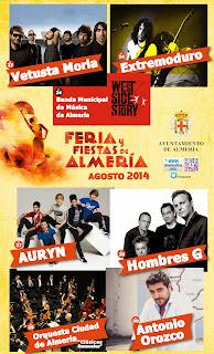 Almería - Conciertos de Feria 2014