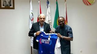 Kunle Soname buys Portuguese club Clube Desportivo Feirense