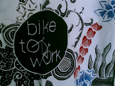 Batik tulis Bike to Work