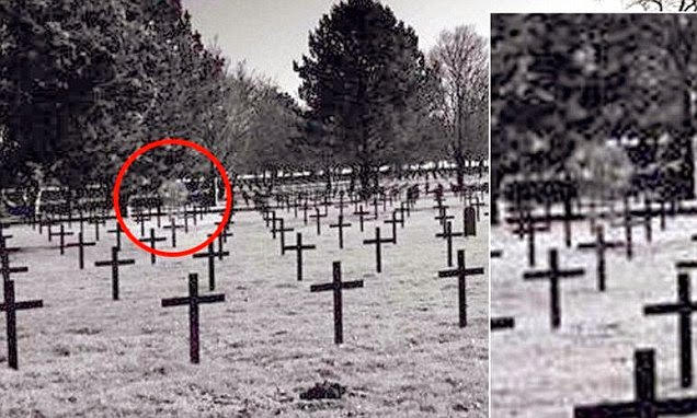 Spooky Soldier 'Ghost' Caught on Camera at Battlefield Cemetery