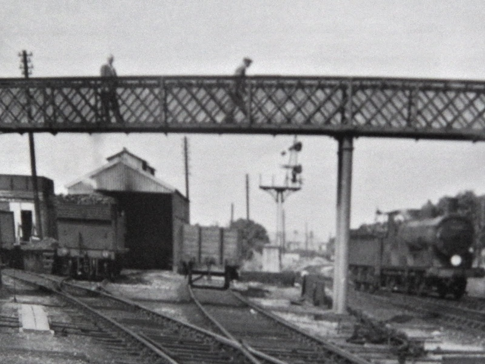 Queens Road Bridge and Engine Shed