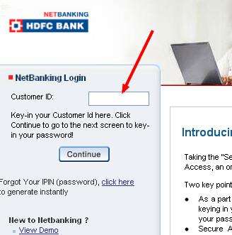 Online Banking: HDFC Online NetBanking Login Hdfc Netbanking