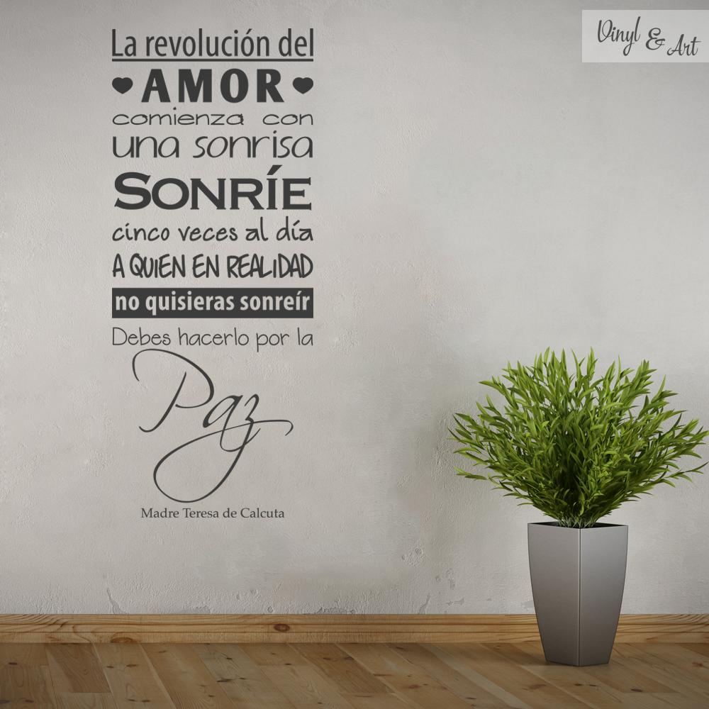 Vinilos adhesivos decorativos vinyl art vinilos - Vinilos de amor ...