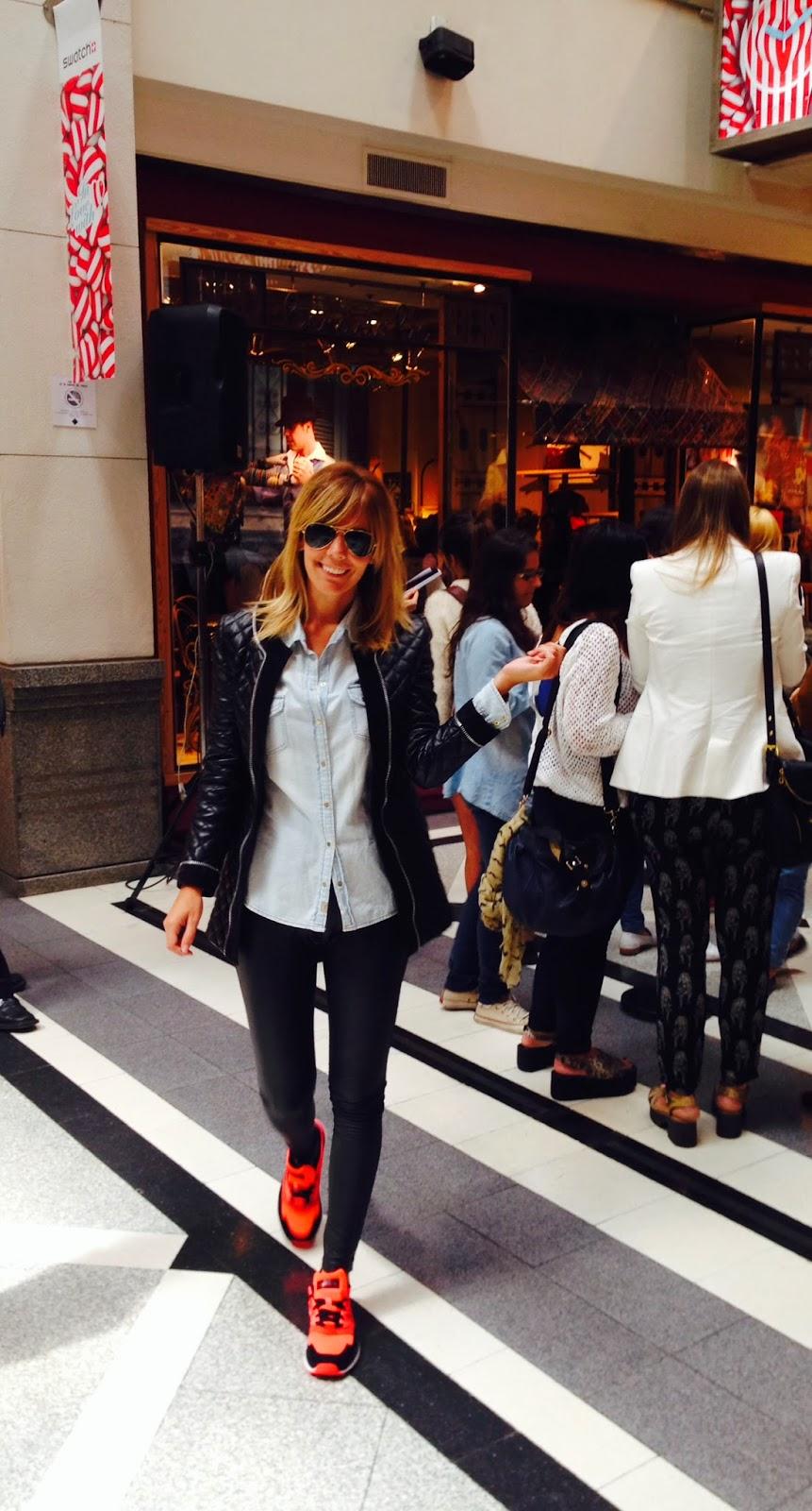 Pinkstyle day ii baf week bendito pie en el paseo alcorta for Adidas paseo alcorta