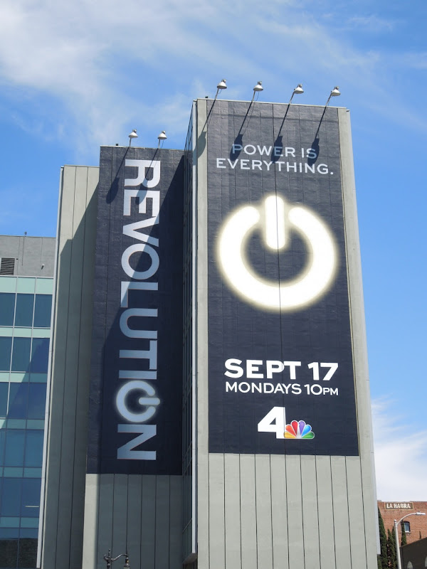 Giant Revolution season 1 billboard