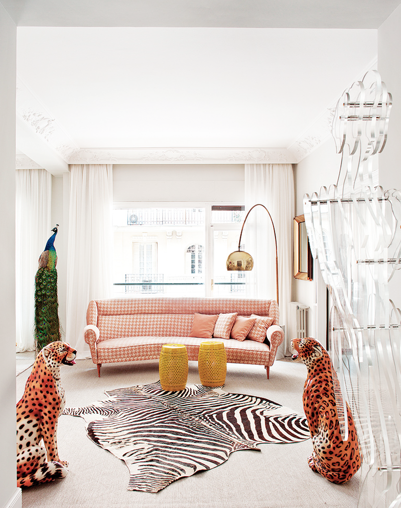 Decor inspiration modern d cor in madrid cool chic - Madrid chic style ...