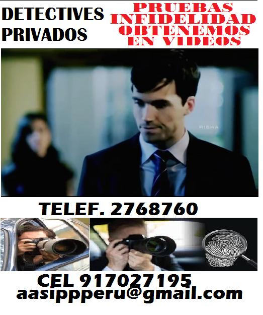 DETECTIVE PRIVADO-INFIDELIDADES