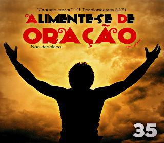Baixar CD capa Alimente se de Oração   Adoração Em Série Vol. 35 (2013)
