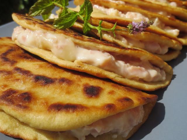 Piadinas de jamón y queso Ana Sevilla