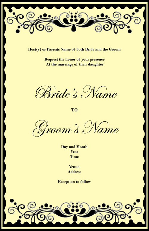 Weddings Invitations Ideas