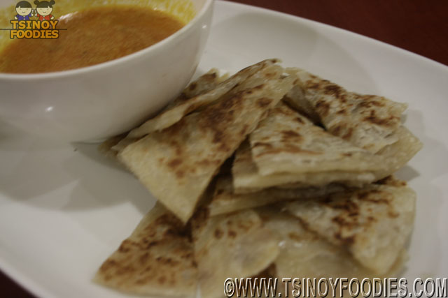 roti prata with curry