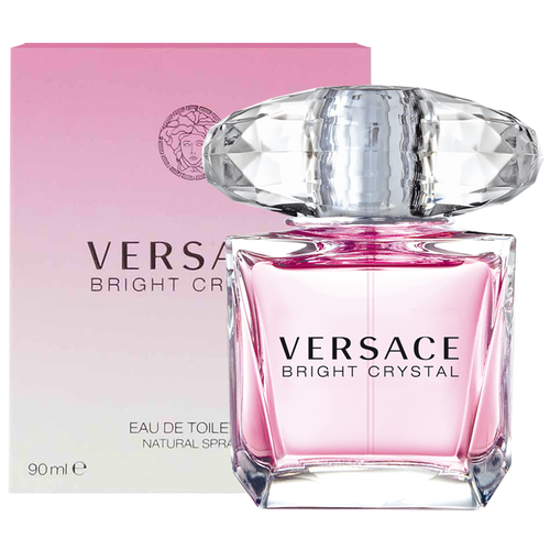 new versace bright crystal 90ml edt spray full size. Black Bedroom Furniture Sets. Home Design Ideas