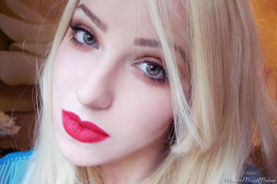 Monroe Misfit Makeup Beauty Blog Fotd 90 S Grunge Makeup