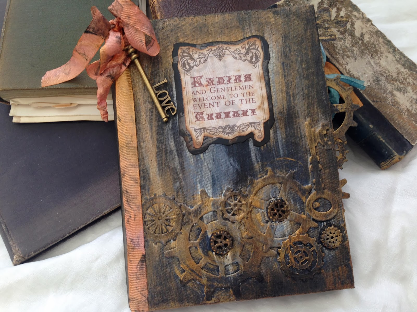 How to make scrapbook vintage - With A Love Of Vintage Materials And Scrapbooking Sharon Will Take Your Keepsakes And Treasures And Make Them