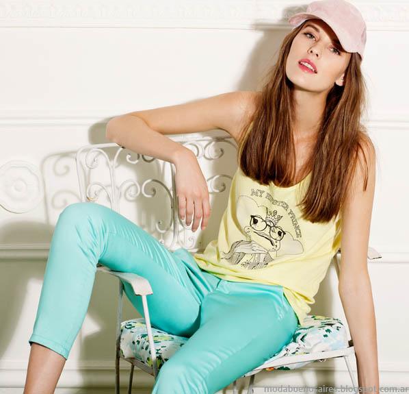 Gloria Jeanswear ropa de mujer de moda para el verano 2014.