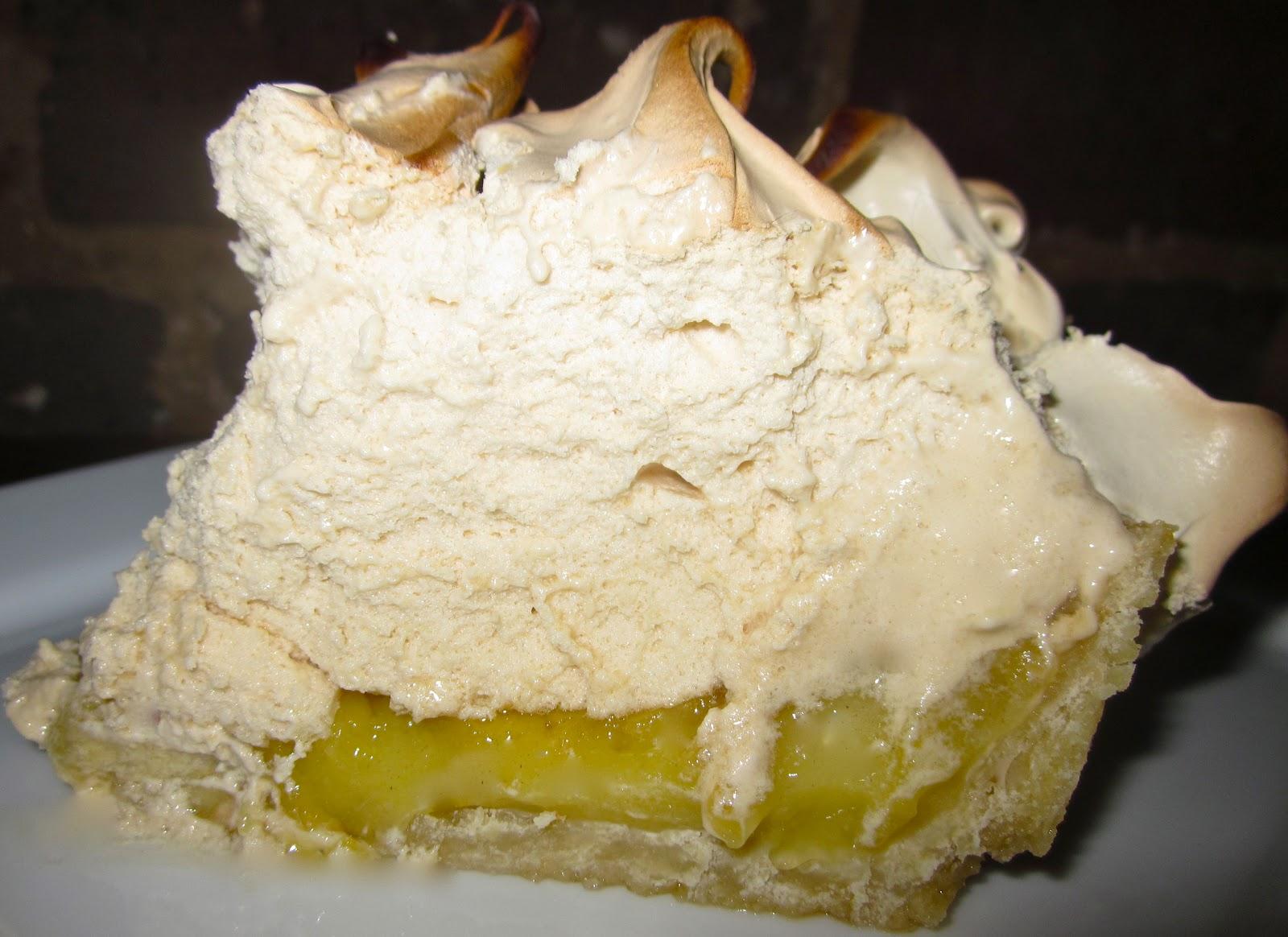 Haute + Heirloom: Lemon Meringue Pie with Toasted Brown Sugar Meringue