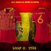 Designer cria uniformes alternativos para as seleções - Grupo B