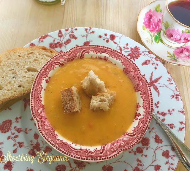 Best Roasted Butternut Squash Soup
